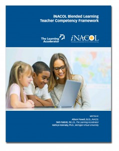 Blended learning resource: Blended learning teacher competency framework