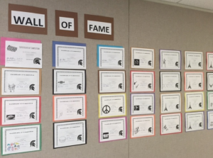 The ATLAS School Wall of Fame
