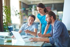 Teachers participate in professional development programs